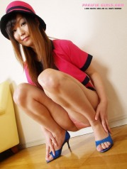 Pink panty asian Girl Photo Set