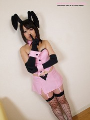 Hot rabbit cosplay asian Girl Photo Set