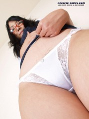 Teacher white panty asian Girl Photo Set