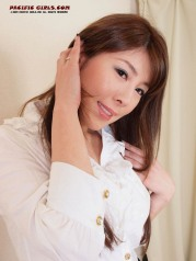 White panty Asian Girl Photo