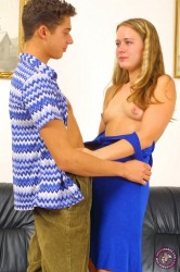 Insatiable Blonde Gets Pounded Doggy Style
