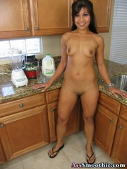 Asian Wench Max Mikita Filling Her Asshole With Fresh Cocktail