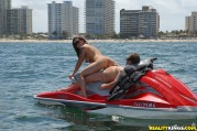 Super Milf Gets Rammed Up Her Box While Riding Jet Ski