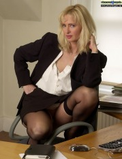 Office mature women