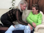 Jessica & Rolf Mature Pantyhose Action