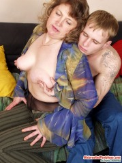 Rebecca & Marcus Pantyhosefucking Nasty Mature Gal