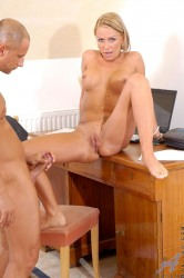 Anilos Blonde Vivien Receives Powerful Reaming By Thick Cock