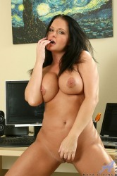 Busty Anilos Cougar Maya Divine Flaunts Her Body In All Of Its