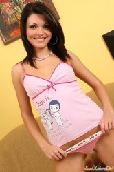 Teen Patricia In Her Love Is Pink Outfit So Sexy