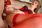 Sultry Milf Taking Rod Up Her Warmed Up Ass