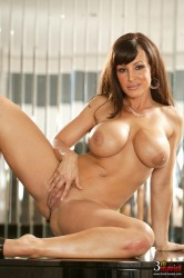 Fiery Lisa Ann Tongue Polishing Hard Pole In Every Which Way