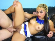 Arab Millian Blu Gets Ass Fucked And Slurps Cum
