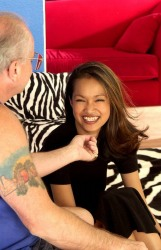 Asian Girl Fucked By Really Old Dude