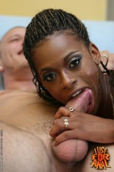 Skinny Balck Babe Got Anal Fucked And Facialized