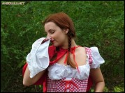 Little Red Riding Hood S White Panties