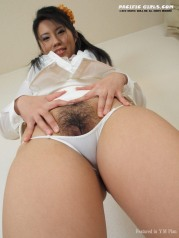 Sexy japan nurse show pink pussy