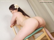 Japan big ass woman show pink pussy