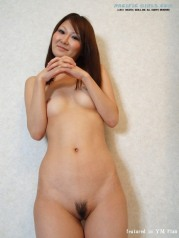 Hot Asian Girl in white panty Photo Set