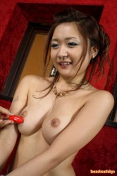 Naughty Japanese Teenie Gets Toys In Her